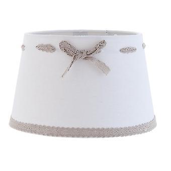 Romantyczne lampy klosz biały Clayre & EEF 25X16cm / E27