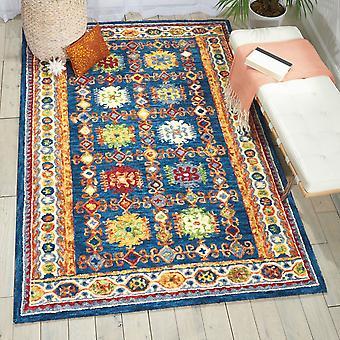 VIB09 vibrante Rectangle marine tapis tapis Funky