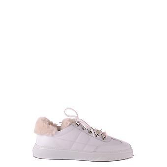 Hogan Ezbc030119 Damen's Sneakers aus weißem Leder