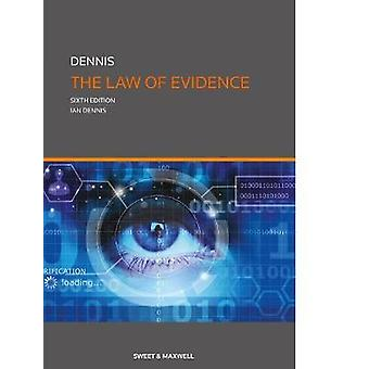 The Law of Evidence by Professor Ian Dennis - 9780414056138 Book