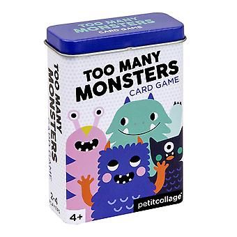 Petit Collage Too Many Monsters Card Game