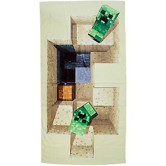 Minecraft Defeat handduk