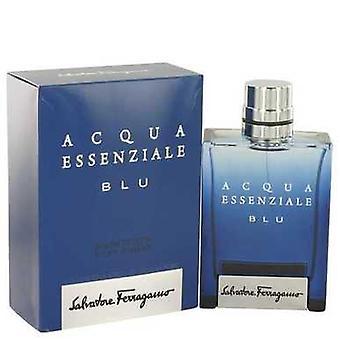 Acqua Essenziale Blu By Salvatore Ferragamo Eau De Toilette Spray 3.4 Oz (men) V728-515193