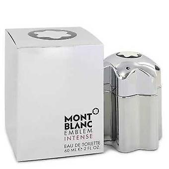 Montblanc embleem intense door Mont Blanc Eau de Toilette Spray 2 oz (mannen) V728-545122