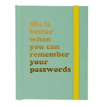 Novelty Password Notebook | Gifts From Handpicked Stationary