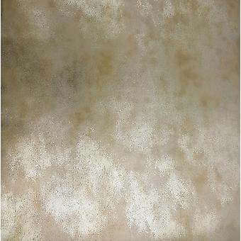 Goudzilver glitter behang Metallic Folie Glinsterende Versleten Vinyl Muriva