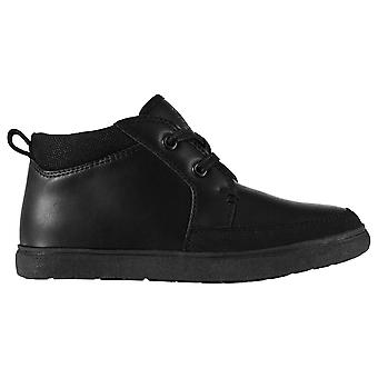 Giorgio Kids Mid High Smart Formal Casual Boots Ankle Shoes Lace Up
