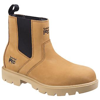Timberland Pro Mens Sawhorse Dealer Slip on Safety Boot Wheat