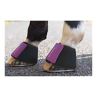 Shires Arma neopreen over REACH Boots-pruim