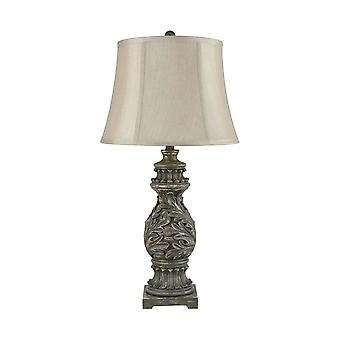 Grey fontainebleau table lamp stein world