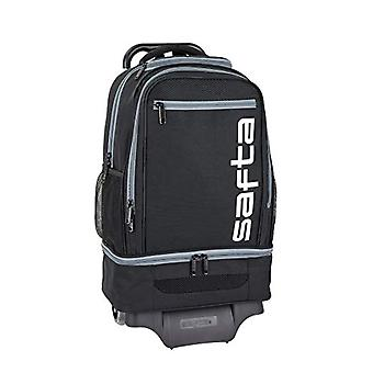 safta negro-gris Sports backpack officer - Model 850 with safta cart 904 - 320 x 180 x 470 mm
