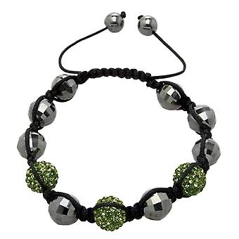 Carlo Monti JCM1150-592 - Women's bracelet with hematite - Fabric