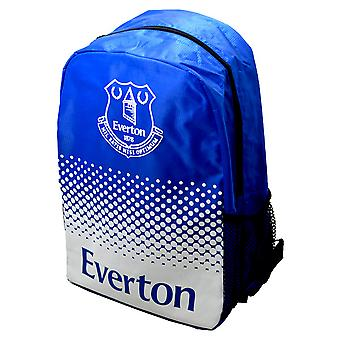 Everton FC Official Fade Crest Design Football Backpack/Rucksack
