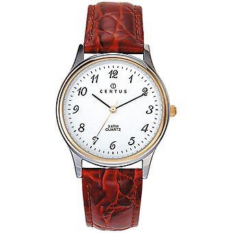 Certus nahka Watch CER-611217-miesten