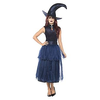 Donne Midnight Witch Fancy Abito Halloween
