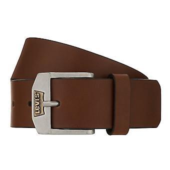 Levi's Belt Men's Belt Leather Belt Jeans Belt Cognac 8244