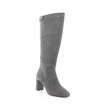 Alfani Womens Nessii Leder geschlossene Zehe Mode kniehohe Stiefel