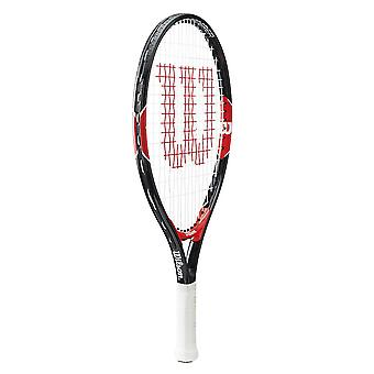 Wilson Federer Junior Tennis Racket Racquet Black/Red - 21