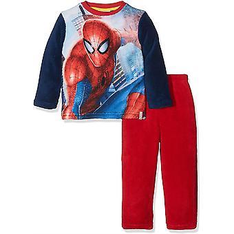 Ragazzi HQ2148 Marvel Spiderman Felpa manica lunga pigiama Set