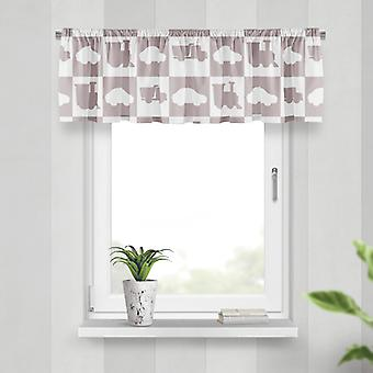 Meesoz Valance - Outline Cars Taupe