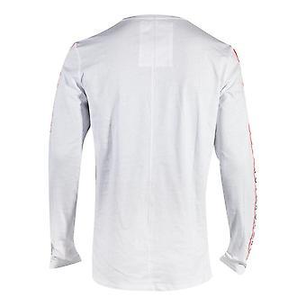 SONY Playstation Taping Langarm Shirt männlich Exta X-Large Weiß