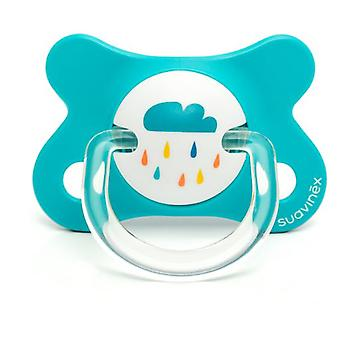 Suavinex Anatomical Pacifier Latex Blue Cloud 2 to 4 Months