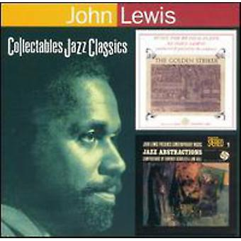 John Lewis - Golden Striker/Jazz Abstractio [CD] USA import