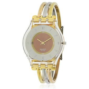 Swatch SFK240A  Female Two Tone Stainless Steel 34MM Quartz Analog Watch