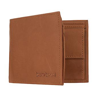 bruno banani men's wallet wallet purse with RFID protection Cognac 2803