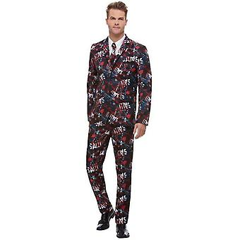 SAW Stand Out Suit Adult Black