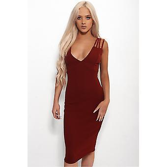 Lola Strap Bodycon Dress