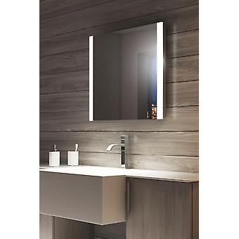 Double Edge LED Mirror With Ambient Underlighting k459W