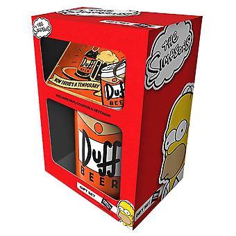 The Simpsons Duff Beer Gift Set