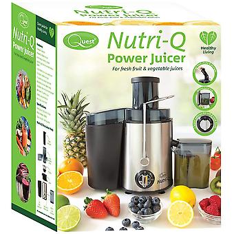Quest Nutri-Q Power Juicer With Centrifugal Extractor