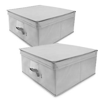Benross Anika 2 Flat Pack Storage Box - Grey