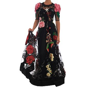 Dolce & Gabbana Crystal Fairy Tale Rochie florală din dantelă