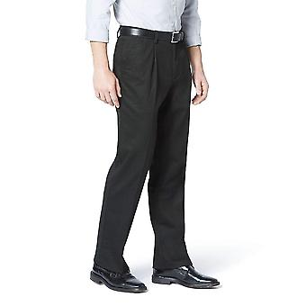 Dockers Men's Classic Fit Easy Khaki Pants -, Black (Stretch), Size 32W x 34L
