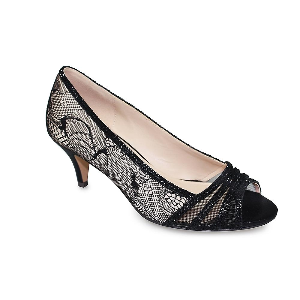 Lunar Faith Kitten Heel CLEARANCE 6LSh9