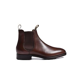 Barker Mansfield Boot dunkle Walnuss