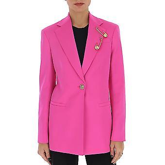 Versace A85700a220957a1708 Women's Fuchsia Other Materials Blazer
