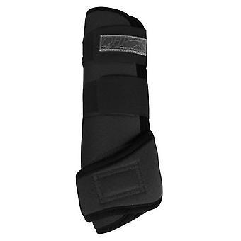QHP Air protectors Neoprene Black
