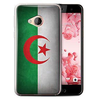 STUFF4 Gel TPU Fall/Cover für HTC U Play/Alpine/Algerien/Algerien/Flaggen