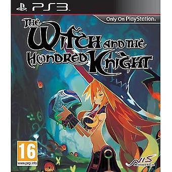 A bruxa e o jogo de PS3 cem cavaleiro