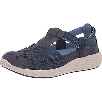 Bare Traps Womens Leaxa Closed Toe Casual Slide Sandals