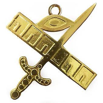 Masonic gold collar jewel - expert