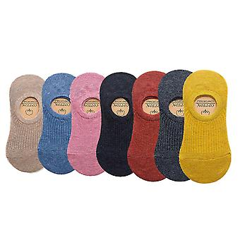 7-pack ankle socks - high cotton content stl 35-42