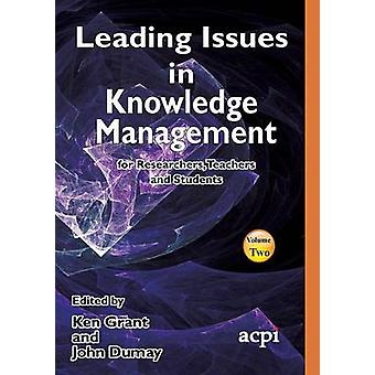 Ledande frågor inom Knowledge Management Volume 2 av Grant & Kenneth