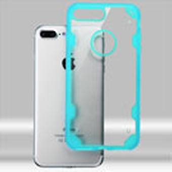 ASMYNA Chali-FreeStyle Hybrid Case for iPhone 8/7 Plus - Transparent Clear/Light Blue