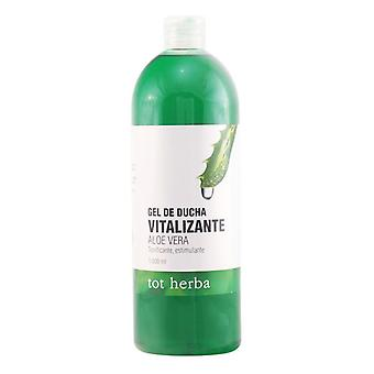 Shower Gel Vitalizante Aloe Vera Tot Herba (1000 ml)