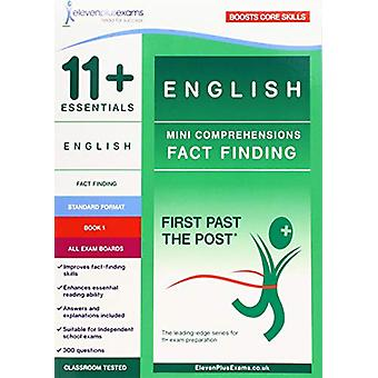 11+ Essentials English - Mini-Comprehensions Fact-Finding Book 1 - 978